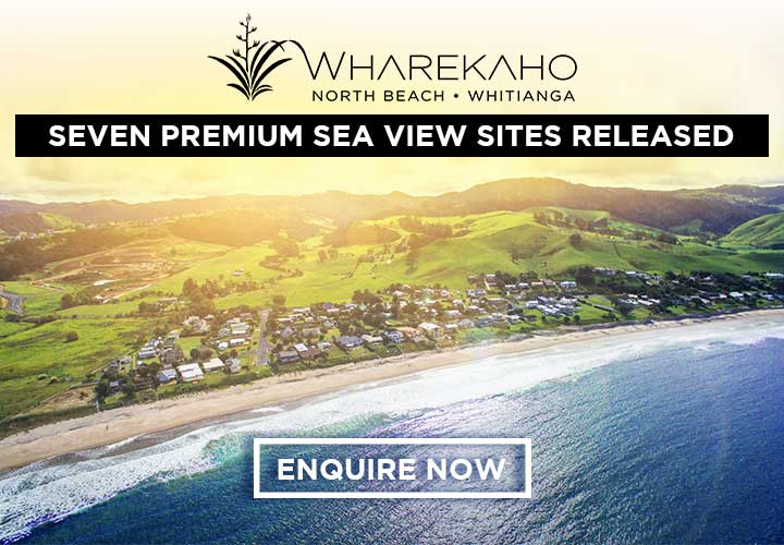 Wharekaho North Beach Whitianga Stunning coastal properties from $230 ENQUIRE NOW