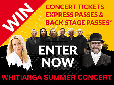 WIN CONCERT TICKETS, EXPRESS PASSES & BACK STAGE PASSES* ENTER NOW CONDITIONS APPLY