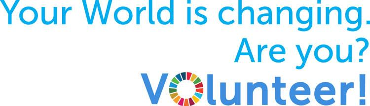 Your world is changing. Are you? Volunteer!