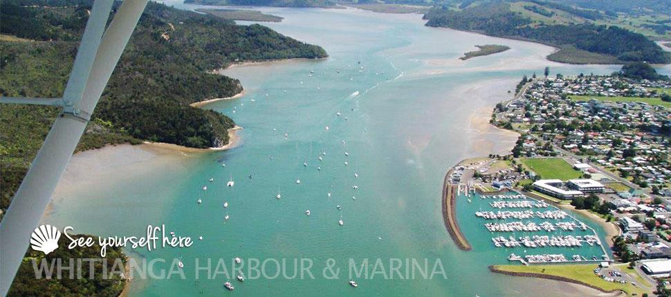 Whitianga Harbour and Marina